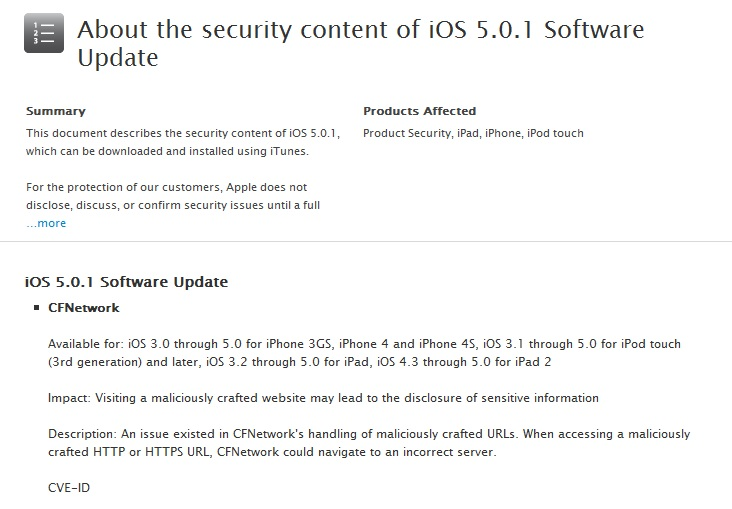 Apple iOS, iTunes, and TV Security Updates | Secplicity