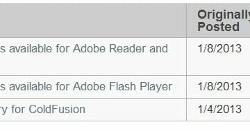 Adobe Patch Day: Reader X and Shockwave Player Fixes