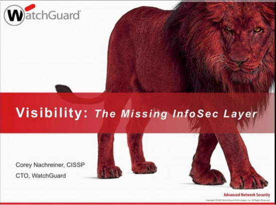 Visibility: The Missing Layer of Infosec
