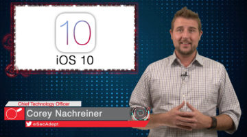 iOS 10 Backup Vulnerability – Daily Security Byte
