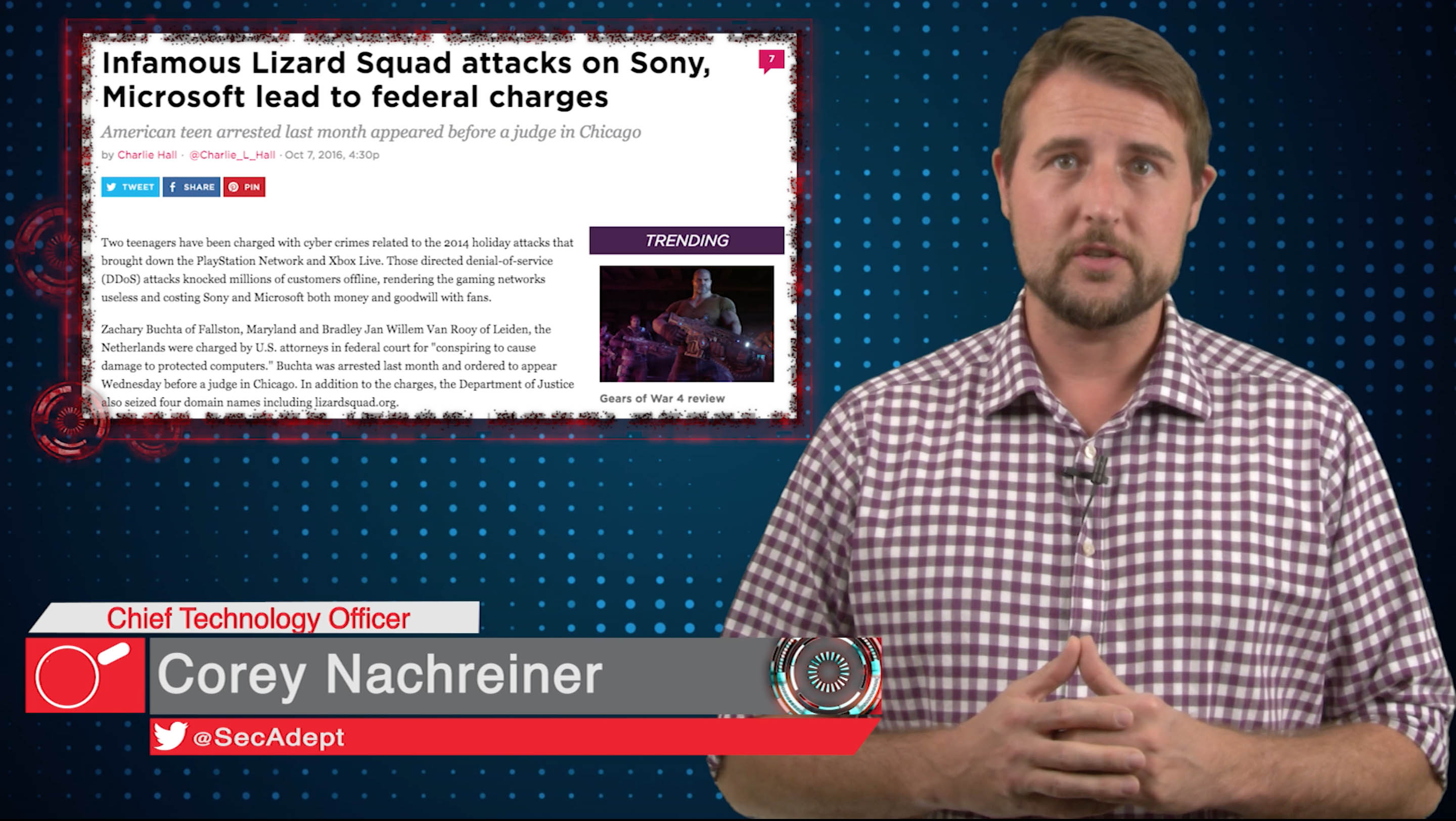 Lizard Squad Members Charged - Daily Security Byte