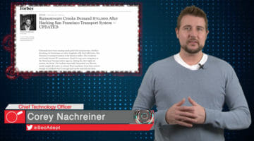 SF Muni Ransomware – Daily Security Byte