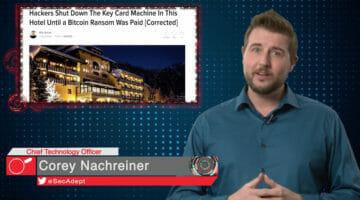 Ransomware Kills Key Cards – Daily Security Byte