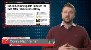 MS Patch Update and 0day – Daily Security Byte