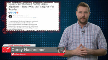 Google Shatters SHA-1 – Daily Security Byte