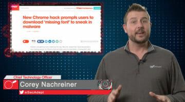 Shady Chrome Font – Daily Security Byte