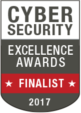 Cybersecurity Excellence Awards 2017 finalist medal