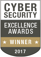 Cybersecurity Excellence Awards winner badge