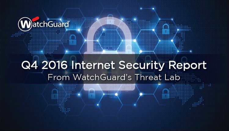 Internet Security Report 2016 Q4