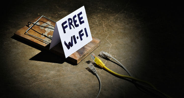 The dangers of free wi-fi