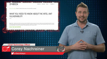 Intel AMT Vulnerability – Daily Security Byte