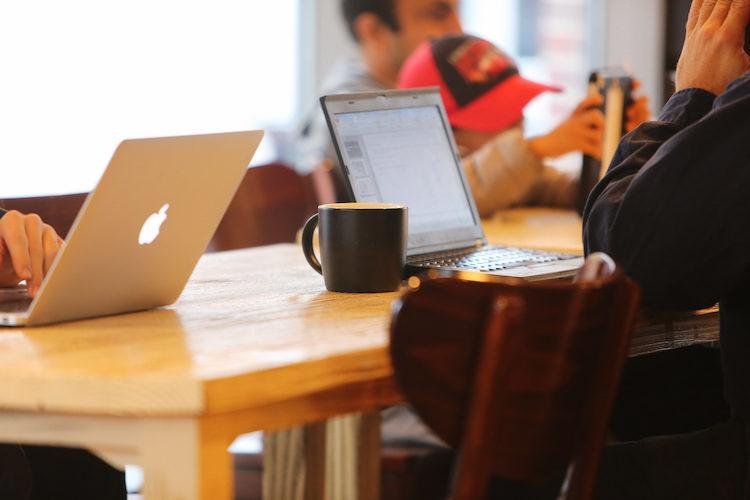wi-fi in coffee shop