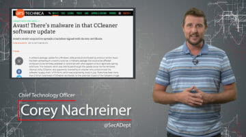 Ccleaner Supply-chain Attack – Daily Security Byte