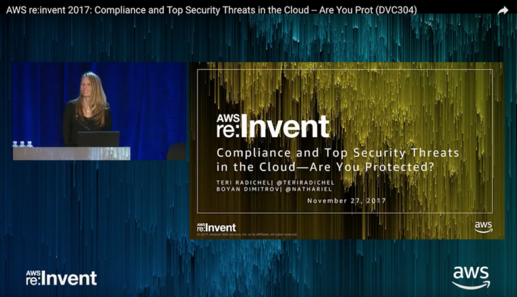 Top Cloud Security Threats: AWS re:Invent