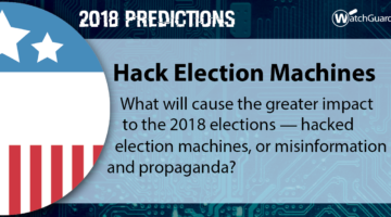 2018 Security Predictions – Hack Election Machines