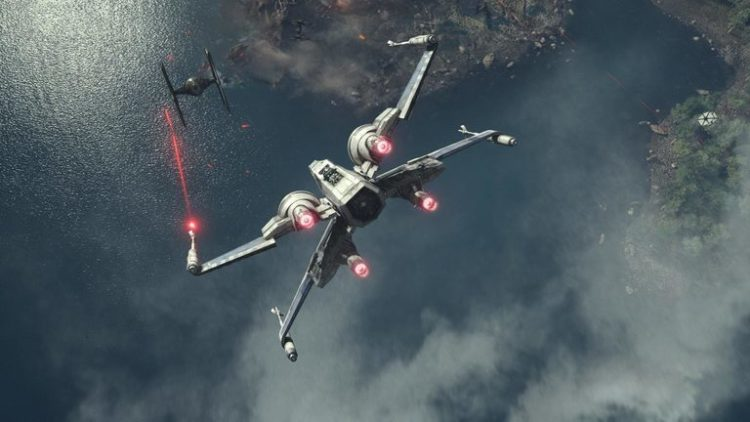 Star Wars The Last Jedi X-Wing