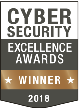 Cybersecurity Excellence Awards 2018 bronze winner