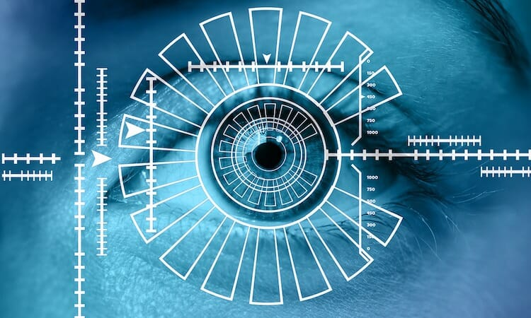 biometrics iris scan eye