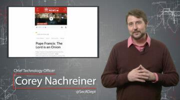 XSS: Is God an Onion – Daily Security Byte
