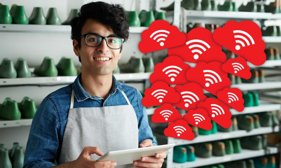 secure wifi worker