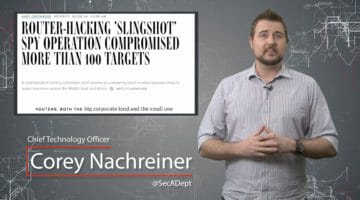 Sophisticated Slingshot Attack – Daily Security Byte