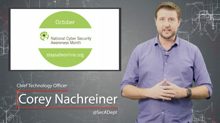 Daily Cyber Security Hygiene  – Cyber Security Awareness Month