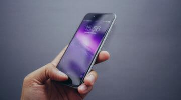 Smartphone biometric login