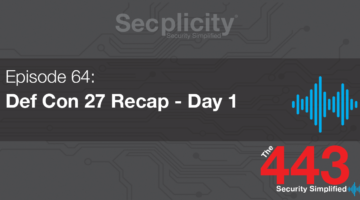 Def Con 27 Day 1
