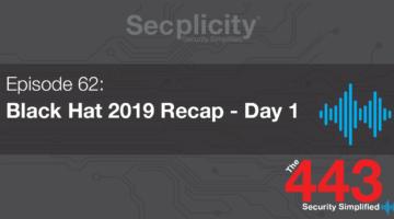 BlackHat Day 1 Recap