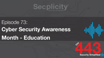 Cyber Security Awareness Month - Education