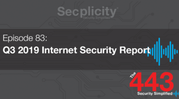 Q3 2019 internet security report