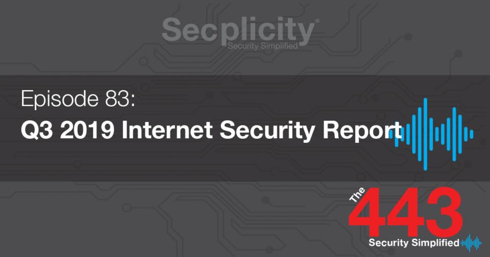 Q3 2019 internet security report