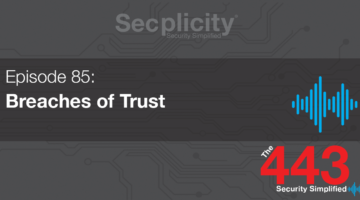 85 - Breaches of Trust