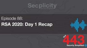 RSA 2020 Day 1