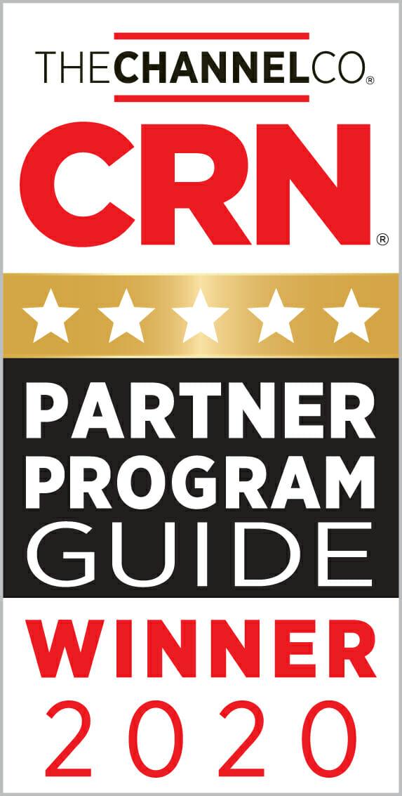 CRN partner Program Guide 5-Star Winner logo