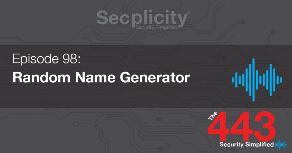 98 Random Name Generator