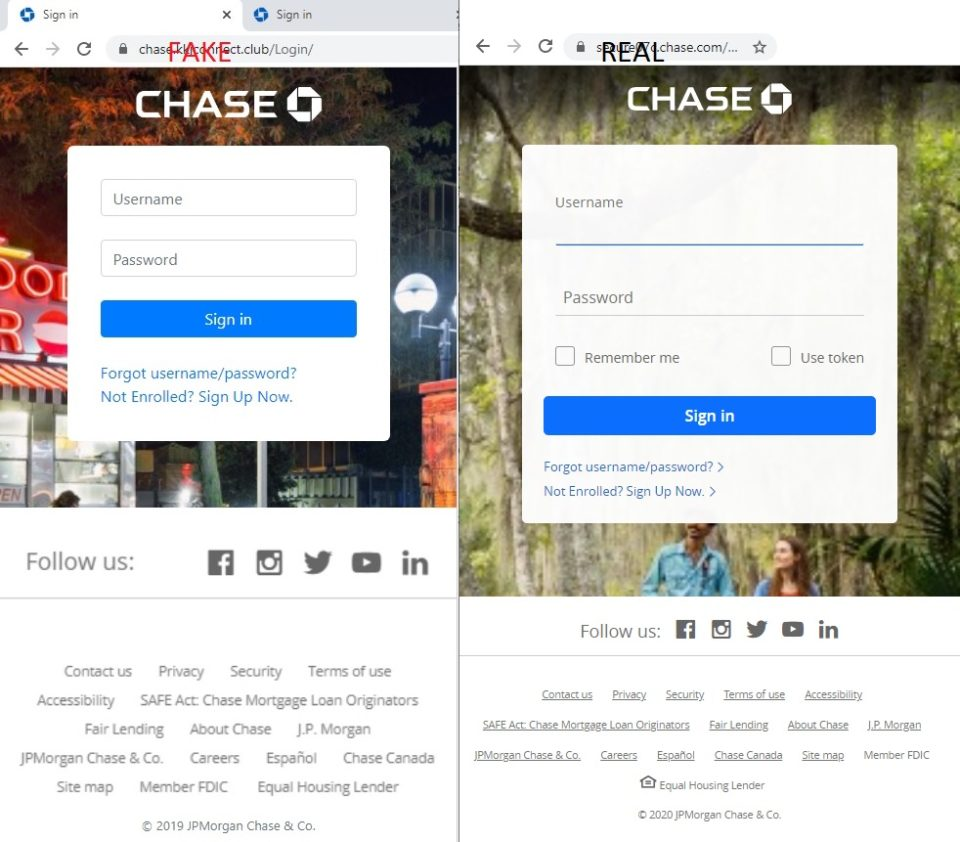 Chase Bank Scams Target Our Own Secplicity Security Simplified