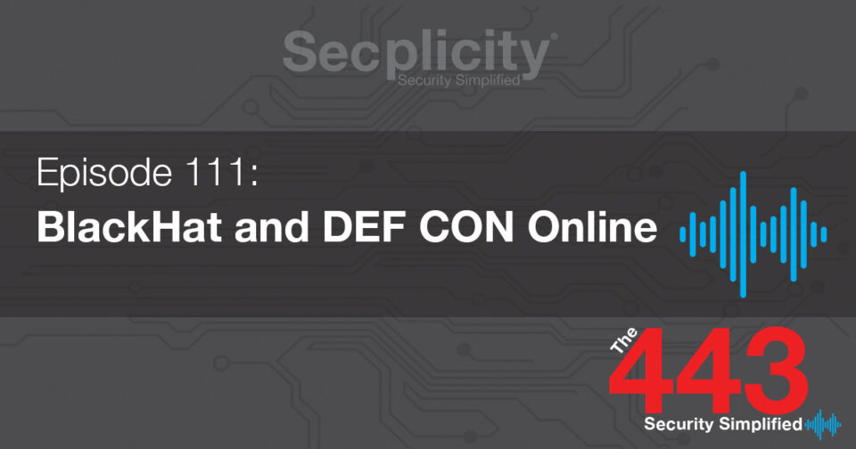 111 BlackHat and DEF CON Online