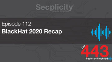 112 BackHat 2020 Recap