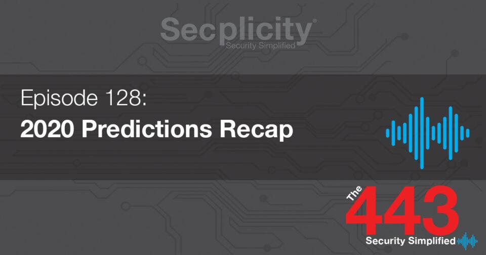 2020 Predictions Recap