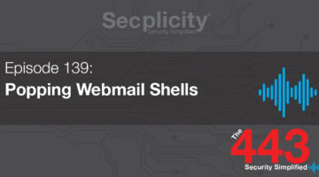 Popping webmail shells