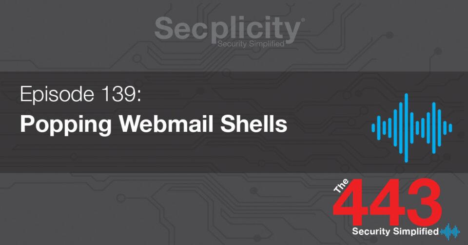 Popping webmail shells