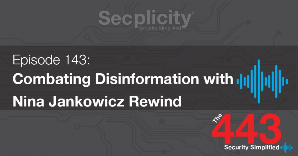 143 Combating Disinformation
