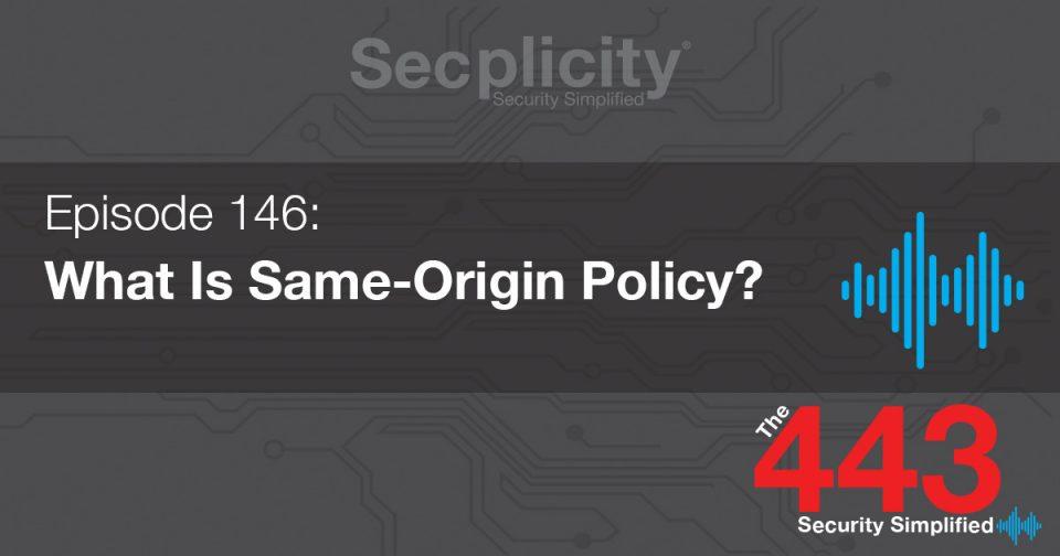 146 Same Origin Policy